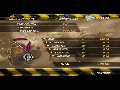 FlatOut 2 - Modo Carreira #7: Novo Carro Switchblade e Competição INSANA