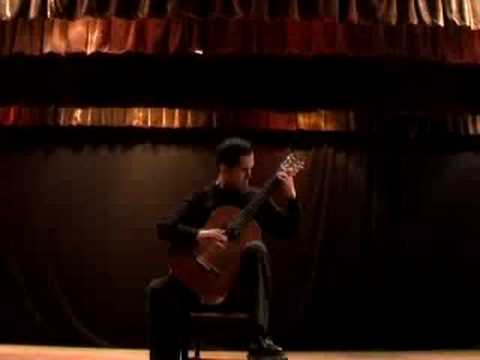 Bach´s Partita BWV 1004 played by Israel Vazquez