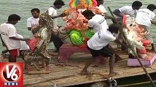 Ganesh Shobha Yatra Begins In Warangal | Ganesh Immersion 2018