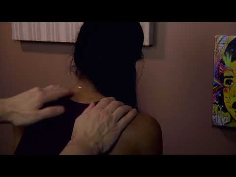 ASMR - Back & Neck Massage - No Talking