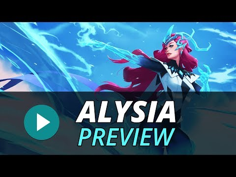 "Champion Preview: Alysia ""The Ice Weaver"""