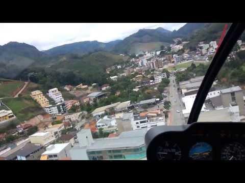 Passeio de Helic�ptero em Venda Nova do Imigrante - ES - Festival da Polenta 2013