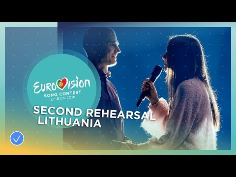 Ieva ZasimauskaitÄ— - When We're Old - Exclusive Rehearsal Clip - Lithuania - Eurovision 2018