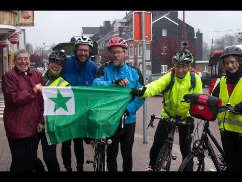 """Flèche Pays-Bas 2017 """"Limes Batavicus"""" - Team Esperanto"""