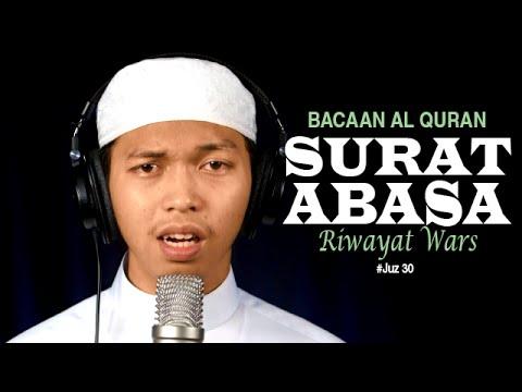 Video Murottal Al-Qur'an Surat 80 Abasa (Riwayat Warsy) - Ustadz Abdurrahim - Yufid.TV
