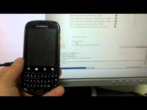 Motorola XT316 unlock with SigmaKey
