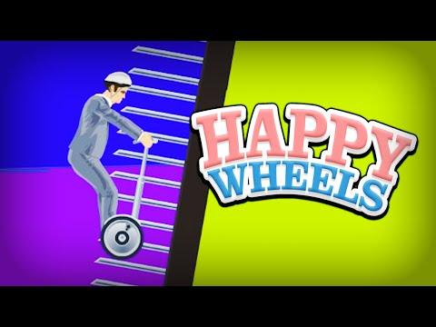 AUGEN ZU UND DURCH !!! | Happy Wheels #120