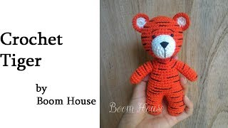 |Crochet Tiger|- móc tay con hổ part 3 - Boom House