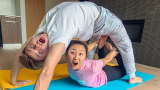COUPLES YOGA CHALLENGE!!