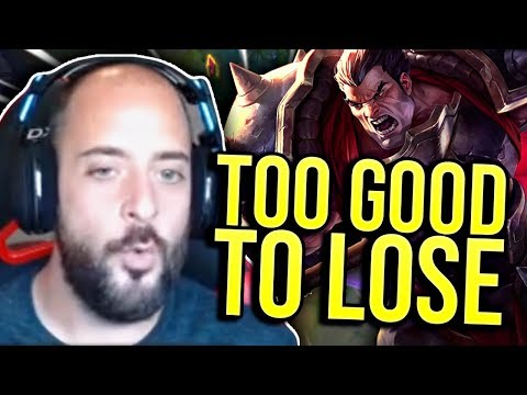 MY DARIUS IS WINNING ALL OF MY GAMES FOR ME?!? - SRO Road to Challenger