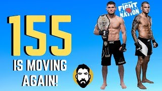 Khabib Nurmagomedov-Dustin Poirier Official; Lightweight Is Moving | Luke Thomas