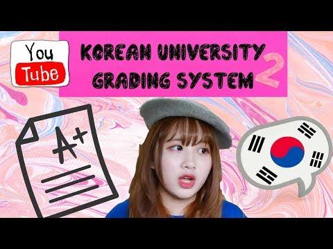 Life as international student in South Korea : Korean grading system (2)
