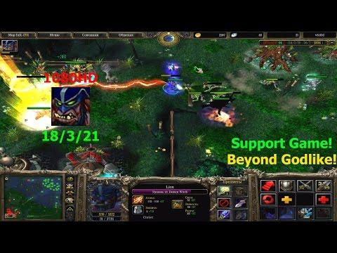 ★DoTa Lion - Let's Play 6.83★! KDA: 21/3/21 Godlike, Support Game!★