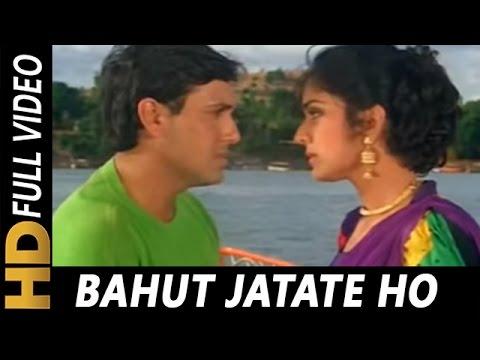 Bahut Jatate Ho Chah Humse | Alka Yagnik, Mohammad Aziz | Aadmi Khilona Hai 1993 Songs | Govinda