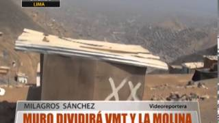 Muro Dividir Vmt Y La Molina