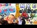 Sky Kids Take Over NEW YORK! (Skylanders Trap Team Family Fun Event) w/ Tsum Tsum Shopping too!