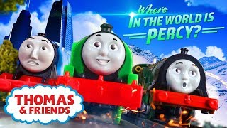 The Search for Percy 👀⭐Where in the World is Percy #2 ⭐Thomas & Friends UK ⭐Cartoons for Kids