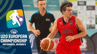 Romania v Albania - Full Game - FIBA U20 European Championship Division B 2019