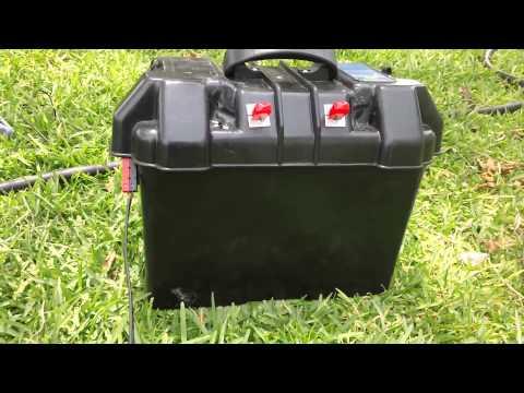 Prepper Power - Homemade Portable Solar Generator - YouTube