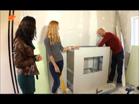 Обзор видов камина из гипсокартона и инструкция как сделать
