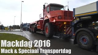 Mackdag 2016 Truckshow Amsterdam, Heavy Haulage, Special transport, Oldtimers, American trucks