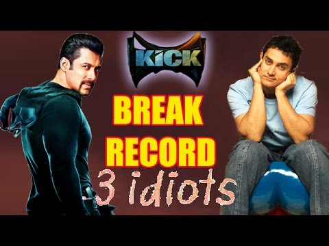 Salman's 'Kick' Box Office Collections! Breaks Aamir's 3 Idiots Record