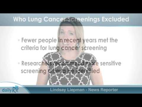 Guidelines Excluded Some from Lung Cancer Screening