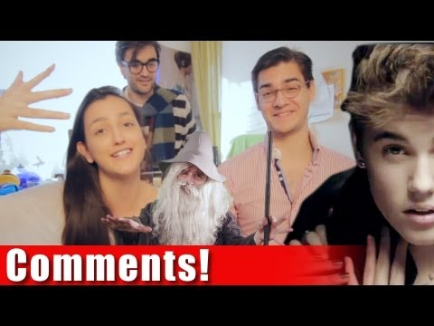 Justin Bieber & The Lord of the Bling - COMMENTS! AVbyte and Sister!