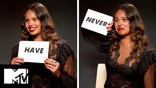 Download Lagu 13 Reasons Why Star Alisha Boe Plays NEVER HAVE I EVER! | MTV Movies Gratis STAFABAND