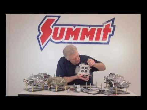 Holley Carburetor Performance Tune - Summit Racing Quick Flicks