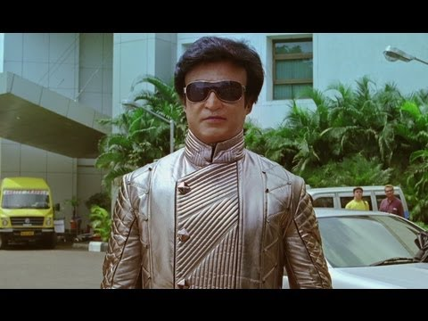 G One Meets Robot Chitti In India - Ra One video