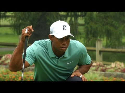 Tiger Woods' bunker play leads to birdie at The Greenbrier