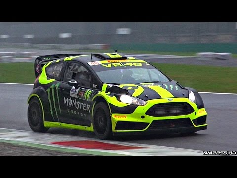 Valentino Rossi Ford Fiesta WRC - 2014 Monza Rally Show