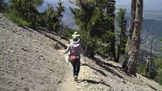 Hiking L A.: Mt. Baden-Powell with Kelly, Kerrin & Bob, August 4, 2010