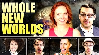 Whole New Worlds: An Aladdin History of Exoplanets | A Capella Science, Trudbol, SamRobson, Gia Mora