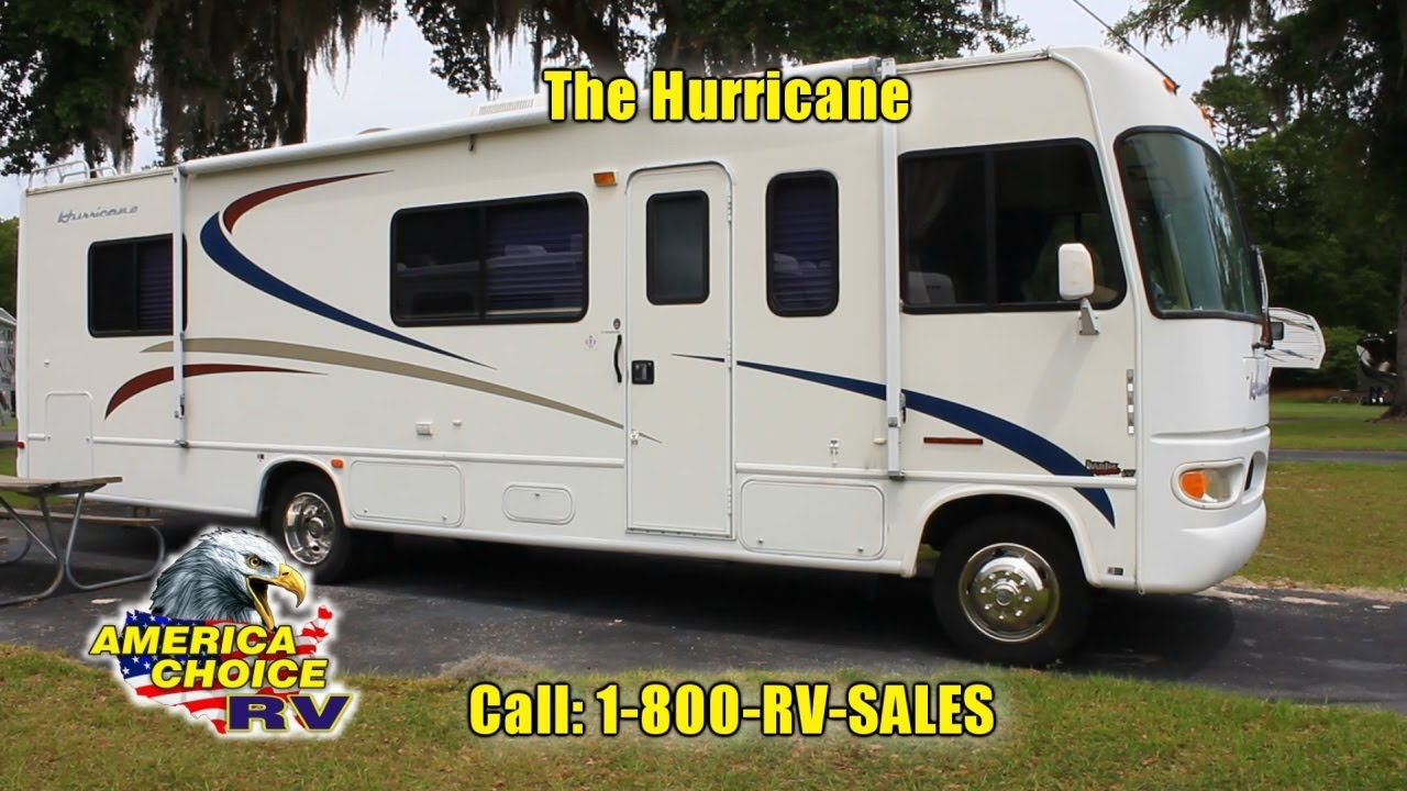 2002 Four Winds Hurricane 30q Class A Gas Motorhome Rv For