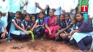 MLA Bodiga Shobha Participates in Haritha Haram Program | Choppadandi Constituency