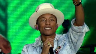 Pharrell Video - Pharrell - Frontin' (Summertime Ball 2014)