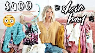 I Spent $400 on Shein Clothes... Was It Worth It?! | BLACK FRIDAY HAUL 2018