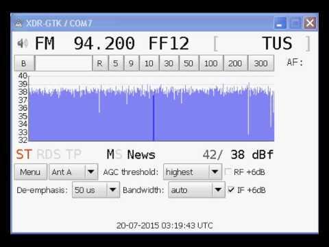 [Tropo] 94.2 MHz - Status Radio - Orestiada/Pythio - Greece - (1104 km) RDS