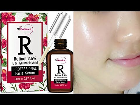 FACE SERUM For Instant Glow-All Skin Type | Get Radiant & Bright Skin | ST.Botanica | LIVE RESULT