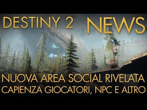 Destiny 2   NEWS: The Farm, Nuova Area Social Rivelata / Numero Massimo Giocatori / Npc