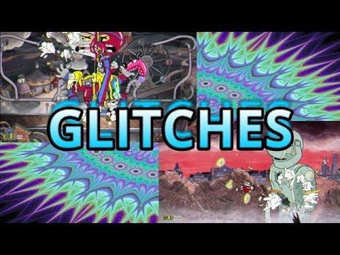 GLITCHES DE BOSSES EN CUPHEAD! (Planta, Payaso, Actriz, Robot, Mono y Diablo!)