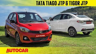 Tata Tiago JTP and Tigor JTP | First Drive Review | Autocar India