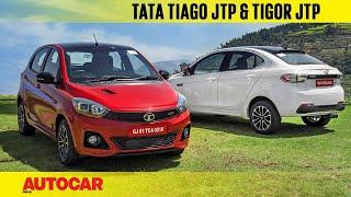 Tata Tiago JTP and Tigor JTP | First Drive Review | Autocar India