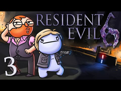 Resident Evil 6 /w Cry! [Part 3] - Catching a Train