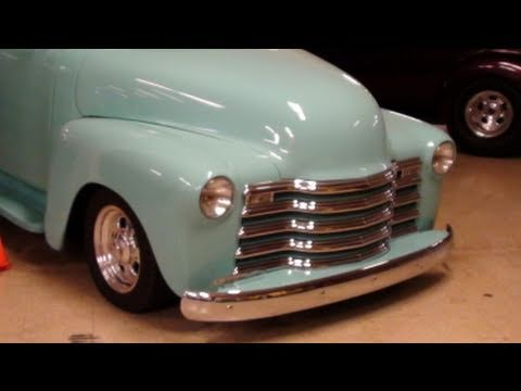 1952 Chevrolet Five Window Pickup - Smoothed Custom Hot Rod Music Videos