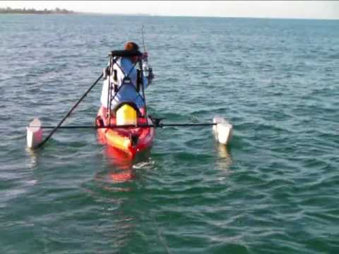Kayak Fishing For Tarpon - Sarasota, Florida