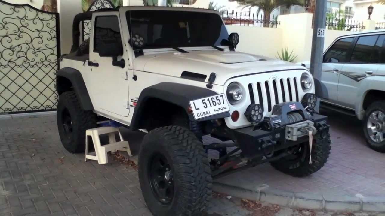 Heavily Modified Jeep Wrangler Youtube