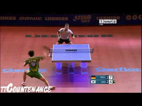 Men's World Cup ,11 Nov 2011 - 13 Nov 2011, Paris, FRA. Men's Singles Quarterfinal. ttCountenance and GecaPhoenix facebook page: http://www.facebook.com/TableTennisRulez :-) If you take...